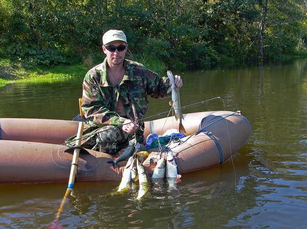Ловля спиннингом с лодки