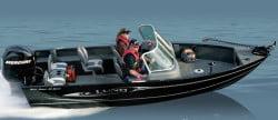 Рыболовные лодки фирмы LUND