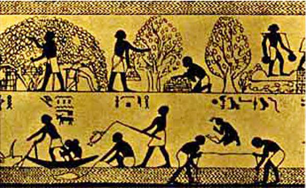 Древнеегипетские фрески