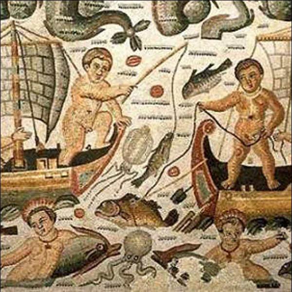 римские фрески