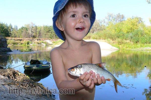 Плотва - первая рыбка увиденная в детстве