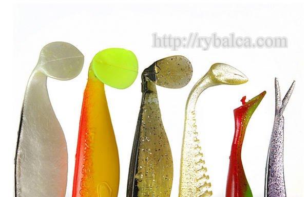 Фото1.Разнообразие форм хвостов