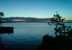 озеро черней