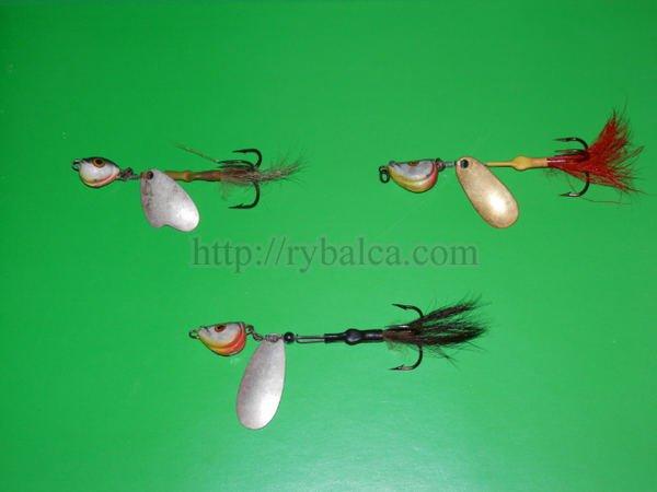 Некоторые переднеогруженные вертушки на щуку