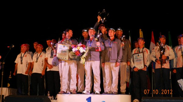 Первое место Чемпионата Мира по ловле хищника с лодки