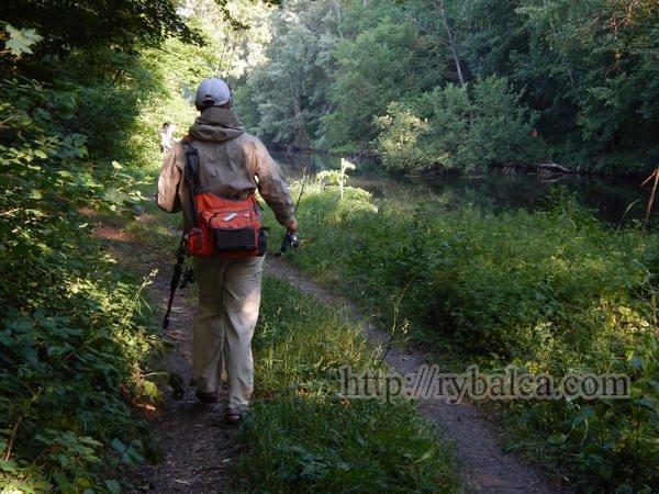 в поисках места для микроджиговой ловли