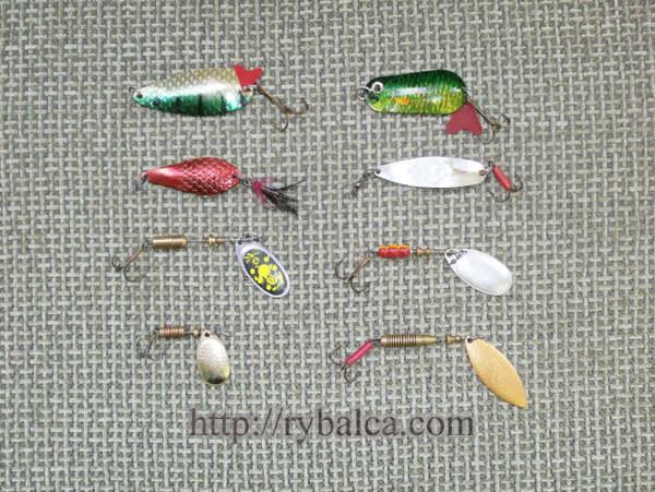 искусственные приманки - колебалки и вертушки