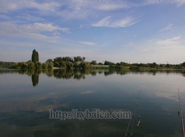Место впадения реки Коломак в Ворсклу