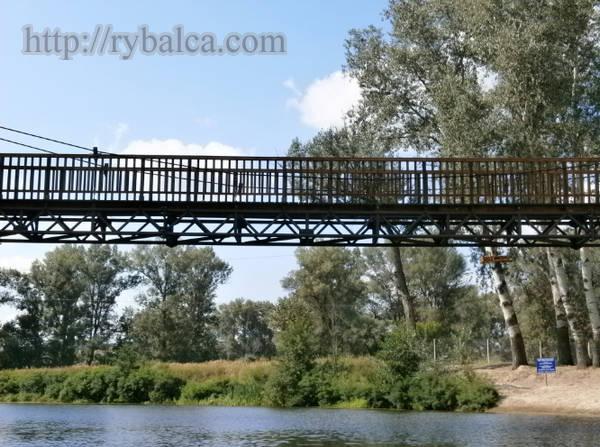 Подвисной мост на Ворскле