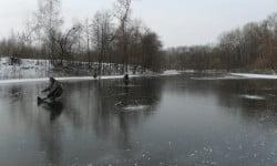 Зима рыбалка