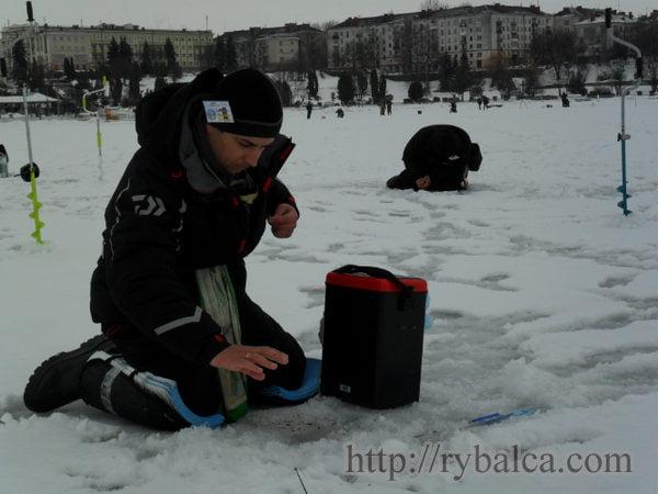 Зимние рыболовные соревнования