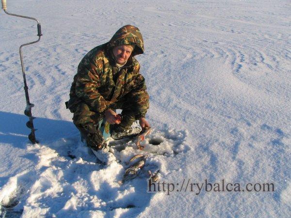 Петр Балашов на рыбалке