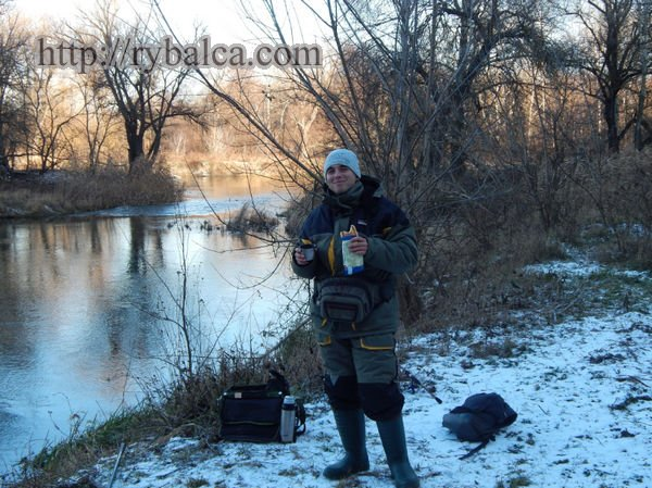 Зимняя рыбалка на спиннинг