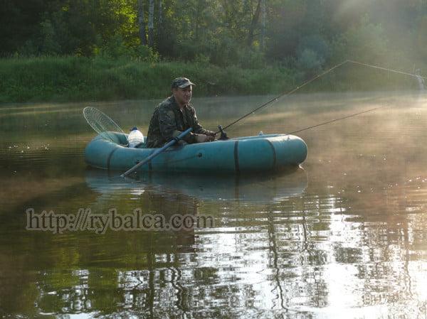 утро рыбалка